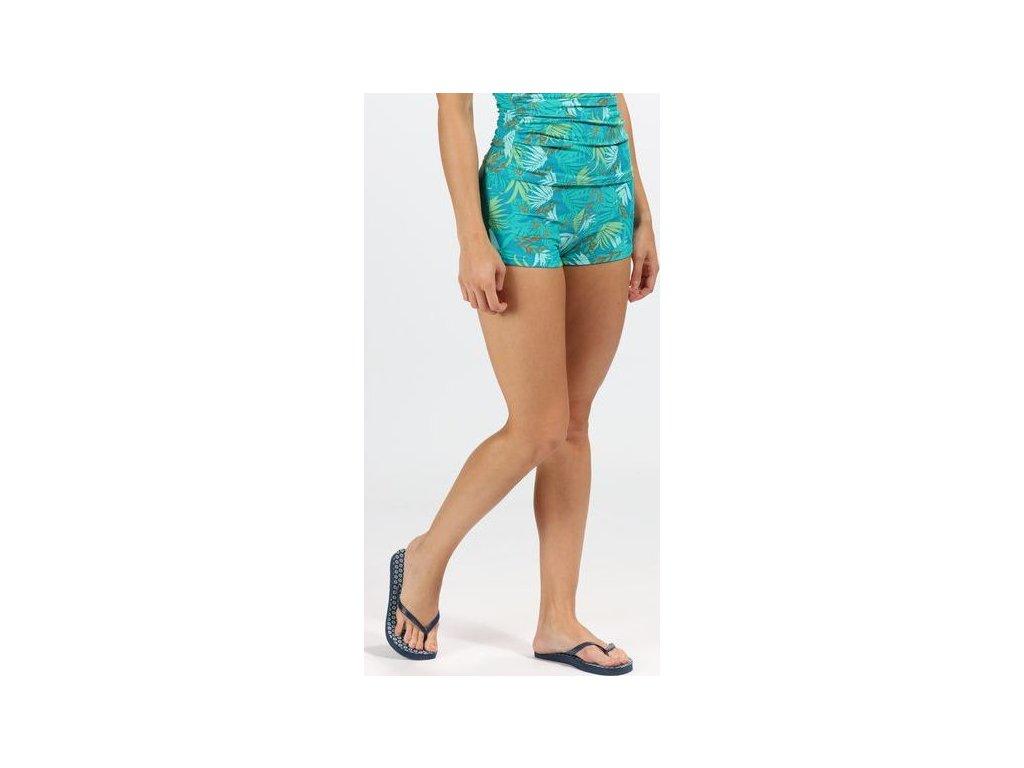 95132 damsky spodni dil plavek regatta rwm007 aceana bikini short zelene