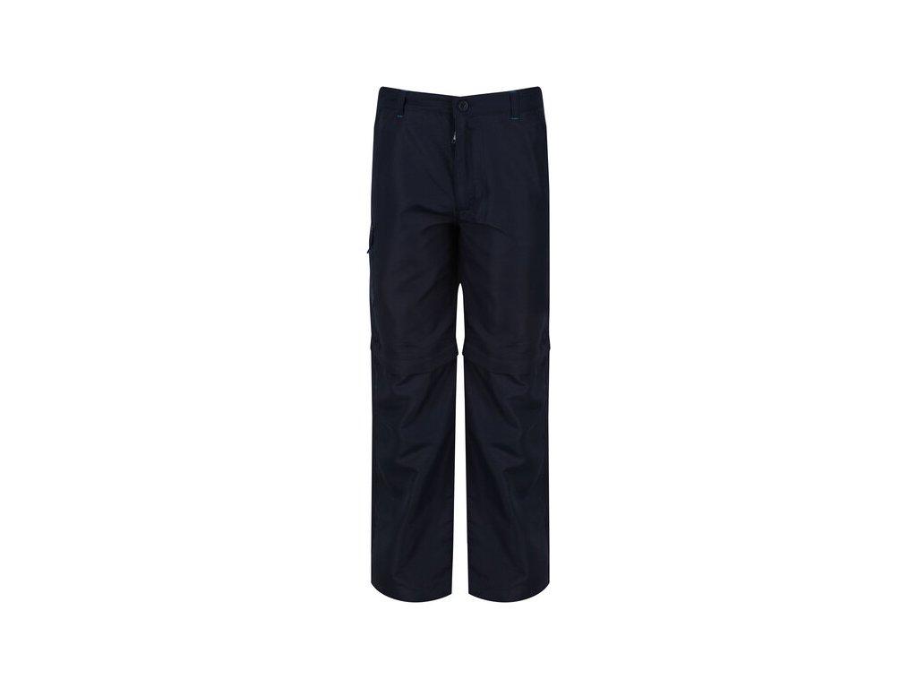95201 detske outdoorove kalhoty rkj060 regatta sorcer z o tmave modra