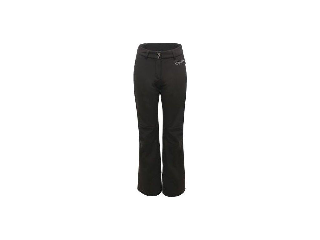 Dámské lyžařské softshellové kalhoty Dare2B DWL301 Remark Pant Černá