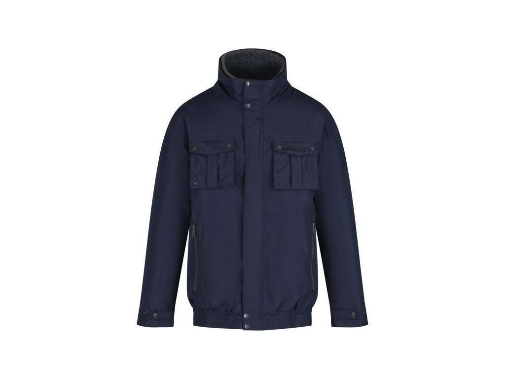 96257 panska zateplena bunda regatta rmp278 ralston tmave modra