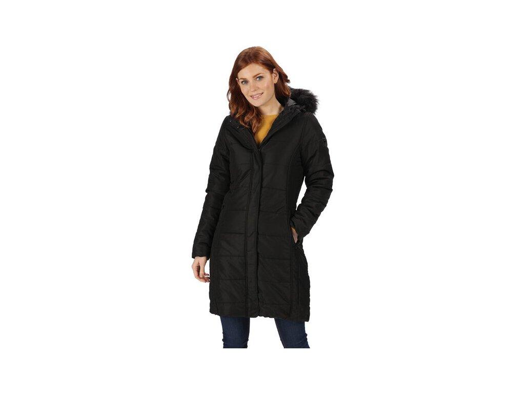 Dámský kabát Regatta RWN123 FERMINA II Černý 19