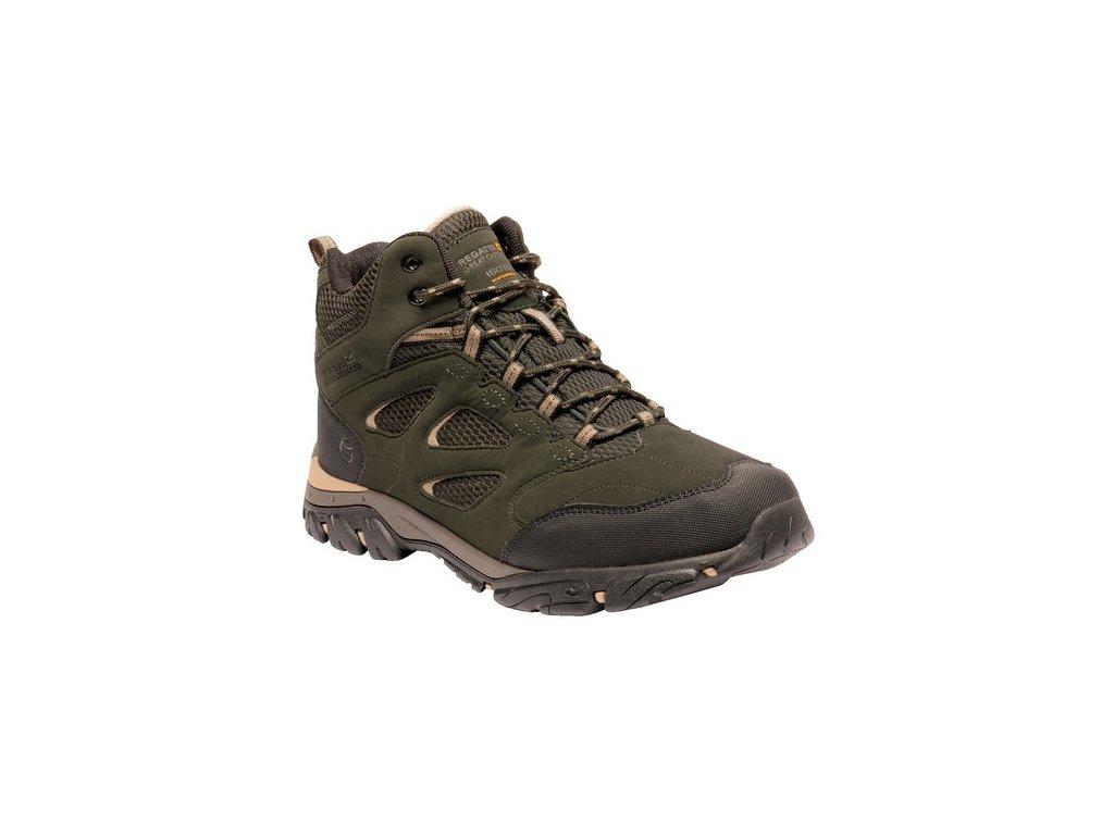 Pánská outdooorová obuv RMF573 REGATTA Holcombe IEP Mid Khaki