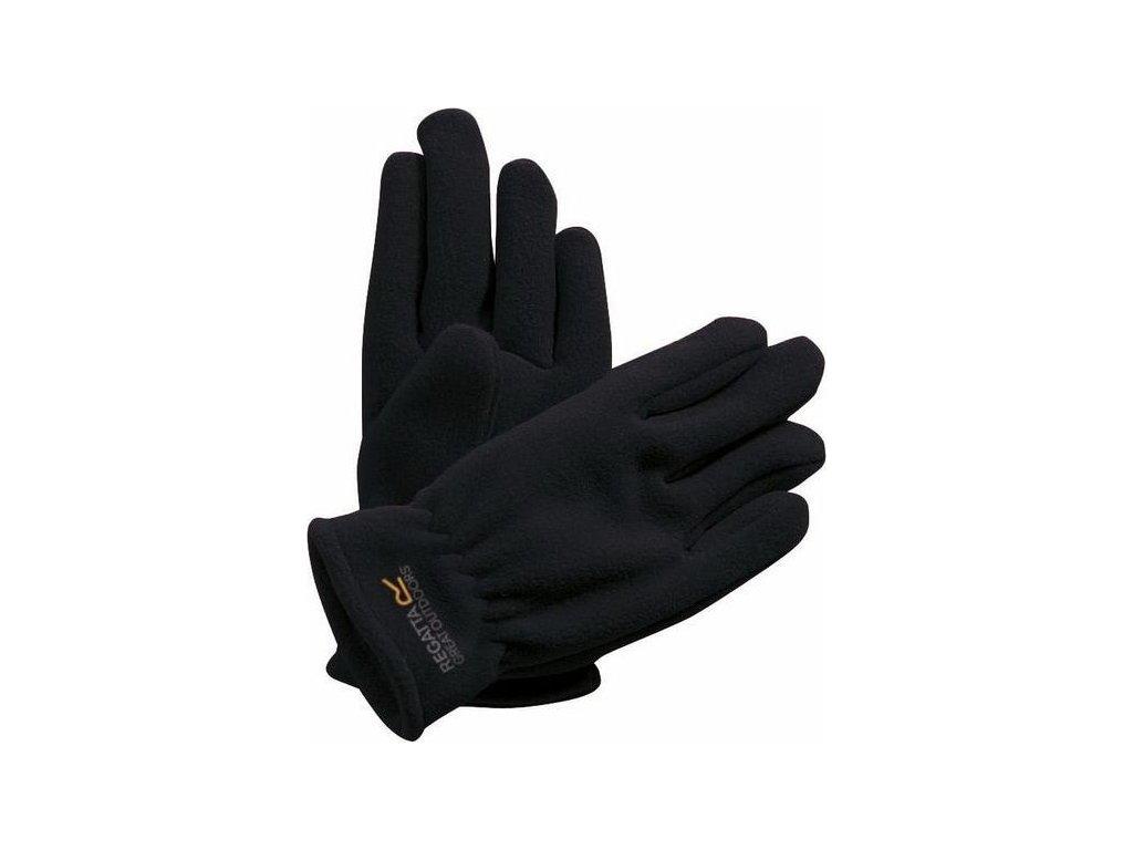 Dětské zimní rukavice RKG024 REGATTA Taz II Černé