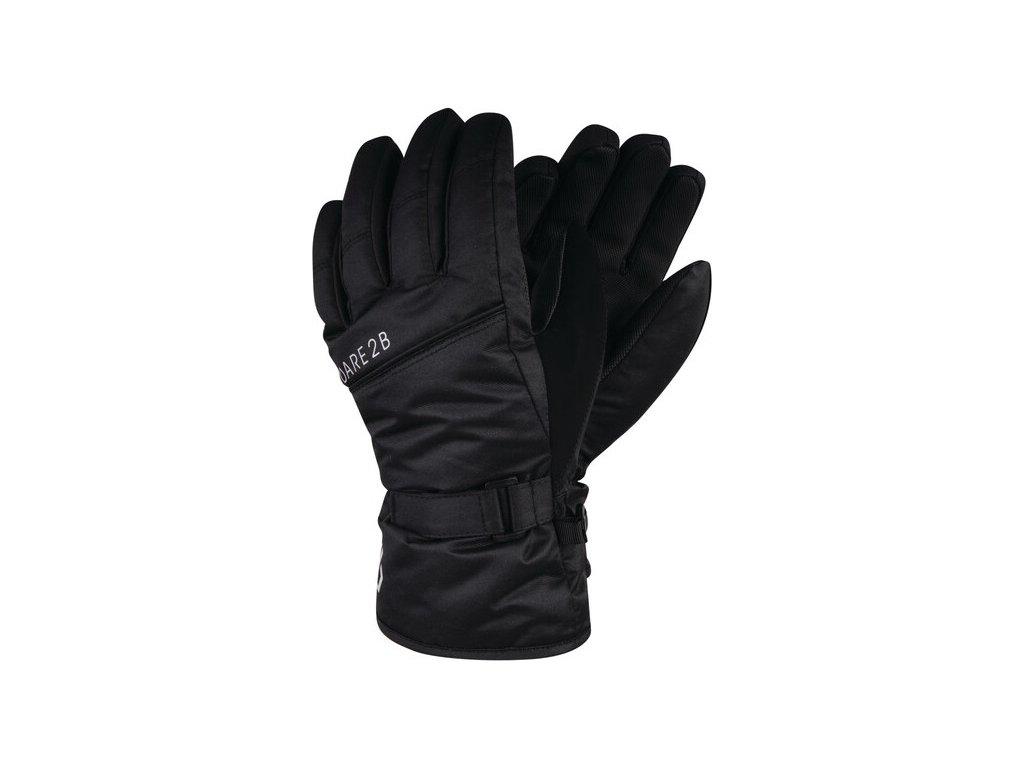 Dětské lyžařské rukavice DBG314 DARE2B Mischievous Černé