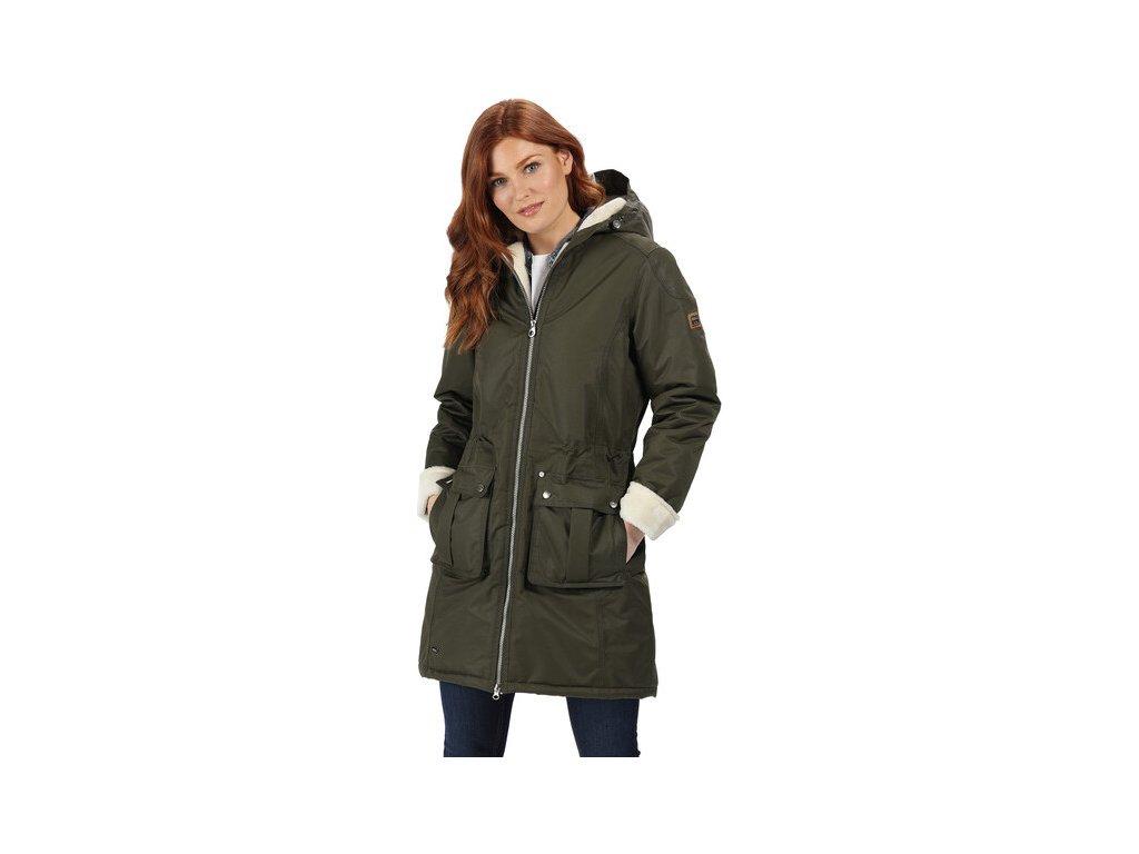 Dámský kabát Regatta RWP260 ROMINA Khaki