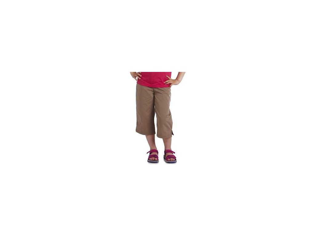 Dětské 3 4 kalhoty RKJ039 REGATTA Boom Boom Hnědé
