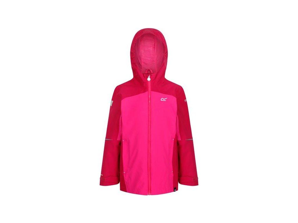 Dětská outdoorová bunda RKW229 REGATTA Hipoint Růžová