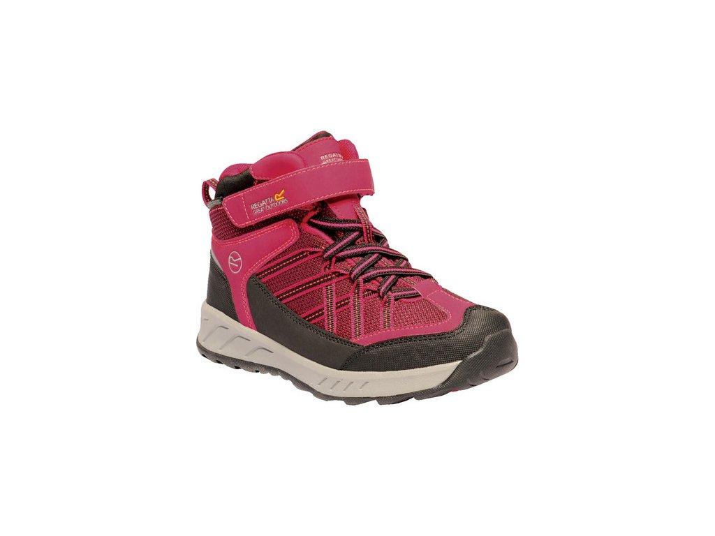 Dětská treková obuv RKF508 REGATTA Samaris V Růžová