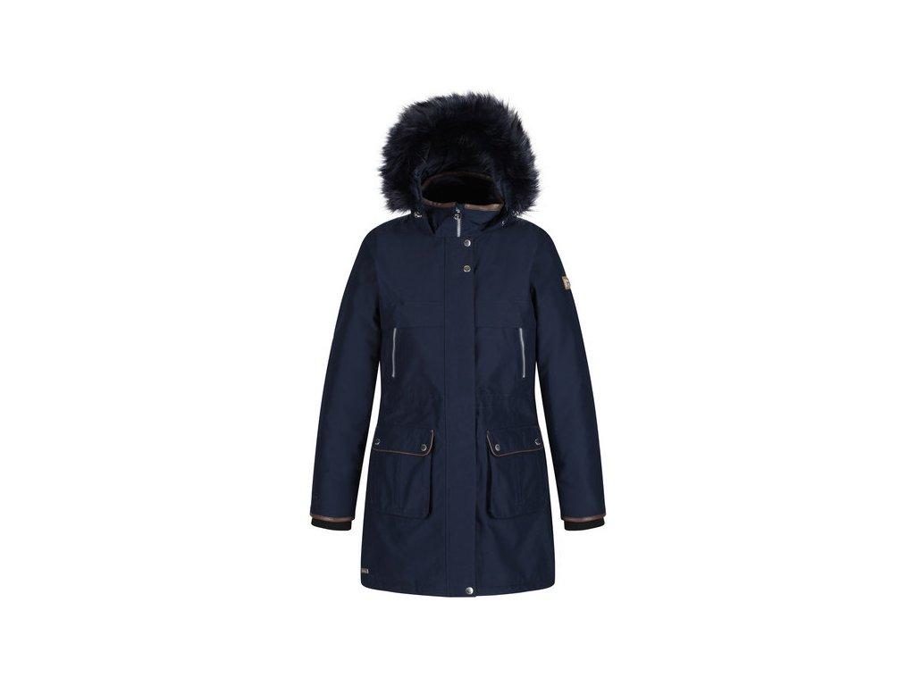 Dámský zimní kabát REGATTA RWP280 Safiyya Tmavě modrý
