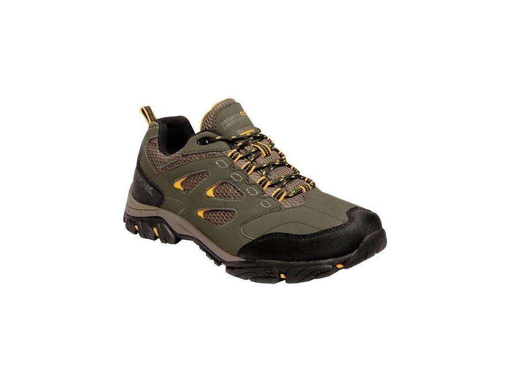 Pánská outdooorová obuv Regatta RMF572 Holcombe Khaki 01
