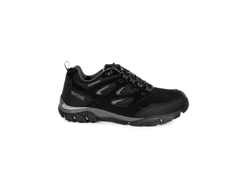 Pánská outdooorová obuv Regatta RMF572 Holcombe Černá