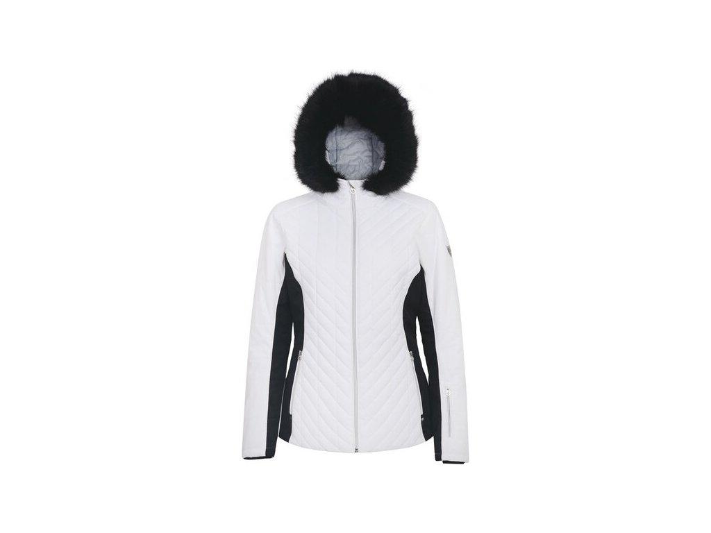 Dámská lyžařská bunda DWP457 DAREB Icebloom Bílá