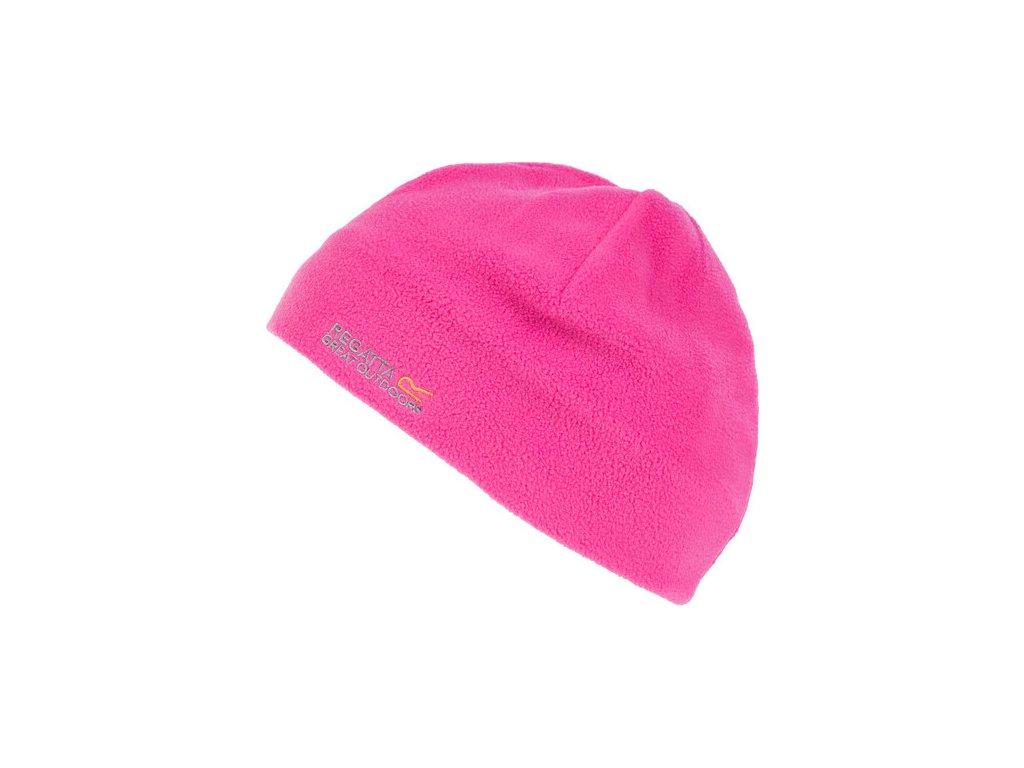 Dětská fleecová čepice RKC088 Taz II Růžová