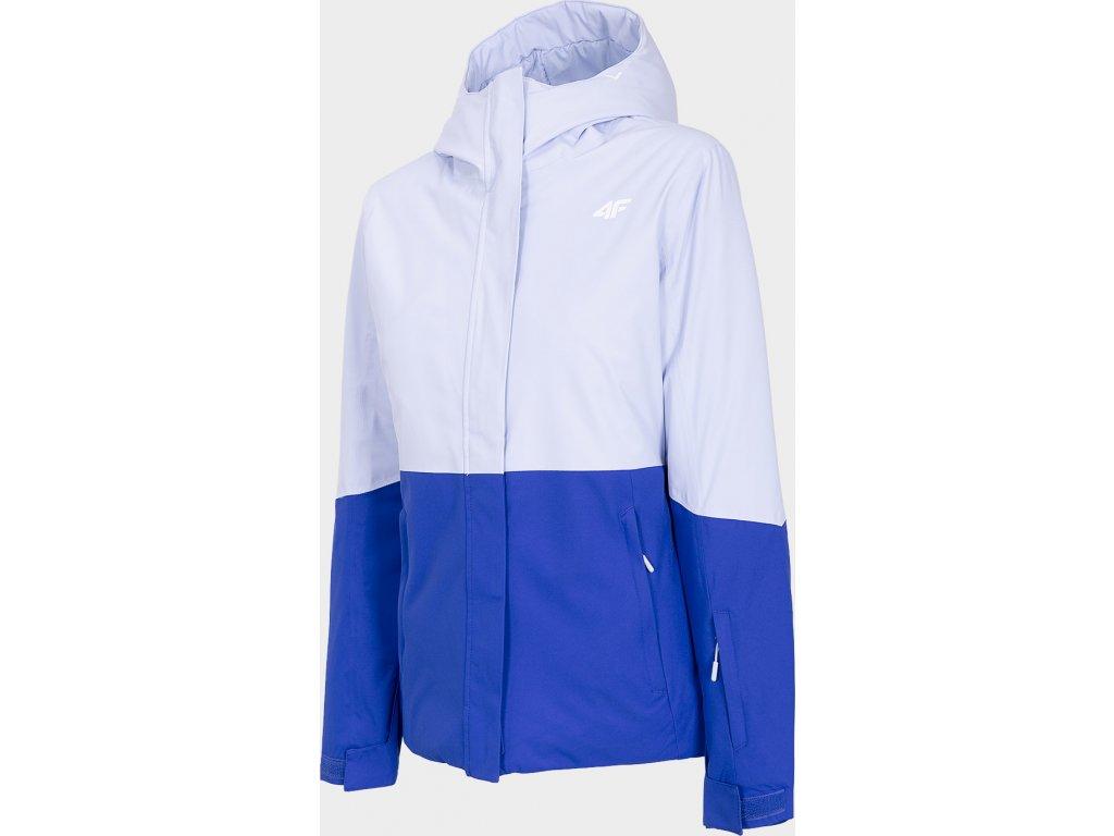 Dámská lyžařská bunda F4 KUDN302 Bílá