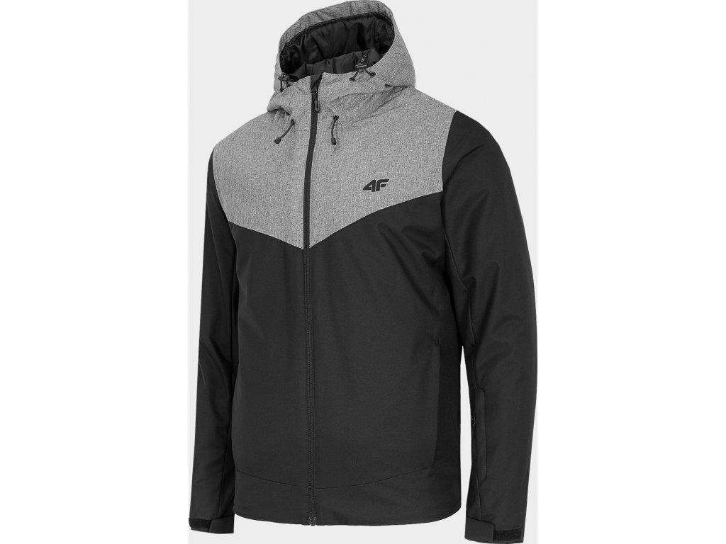 Pánská lyžařská bunda 4F KUMN301 Černá