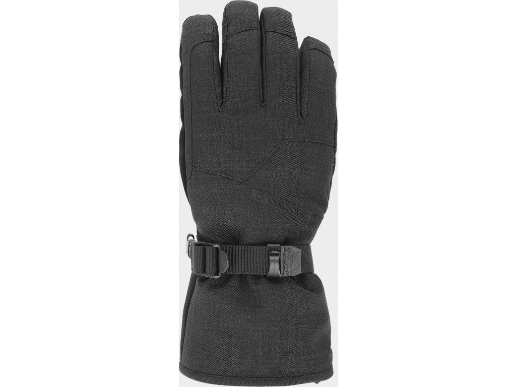 97622 panske lyzarske rukavice 4f rem254 cerne