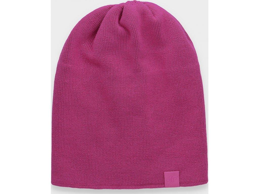 Dámská čepice 4F CAD161 Růžová