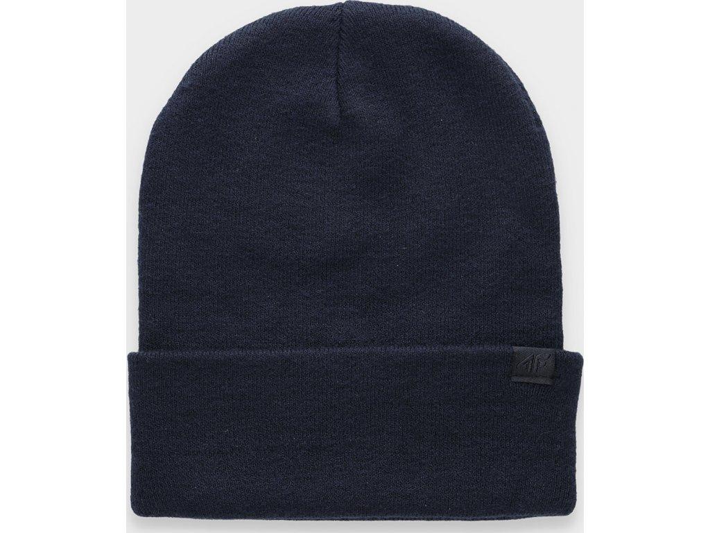 Dámská zimní čepice 4F  CAD301 Modrá