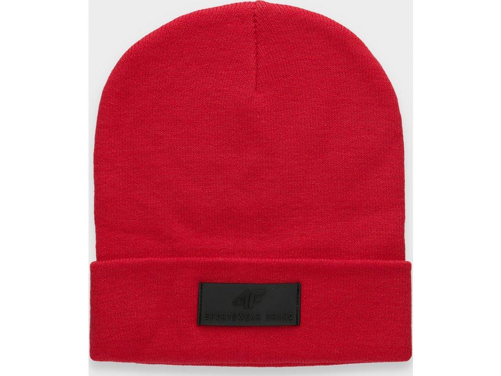 Pánská čepice 4F CAM201 Červená