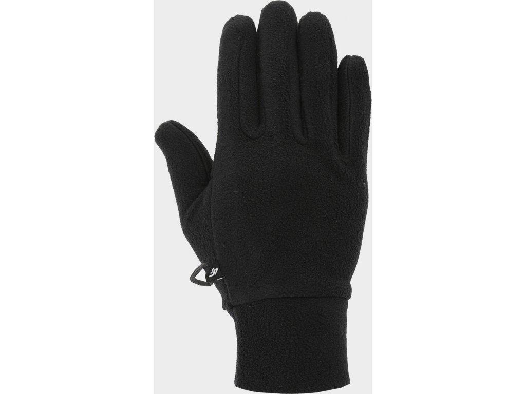 Fleecové rukavice 4F REU301 Černé