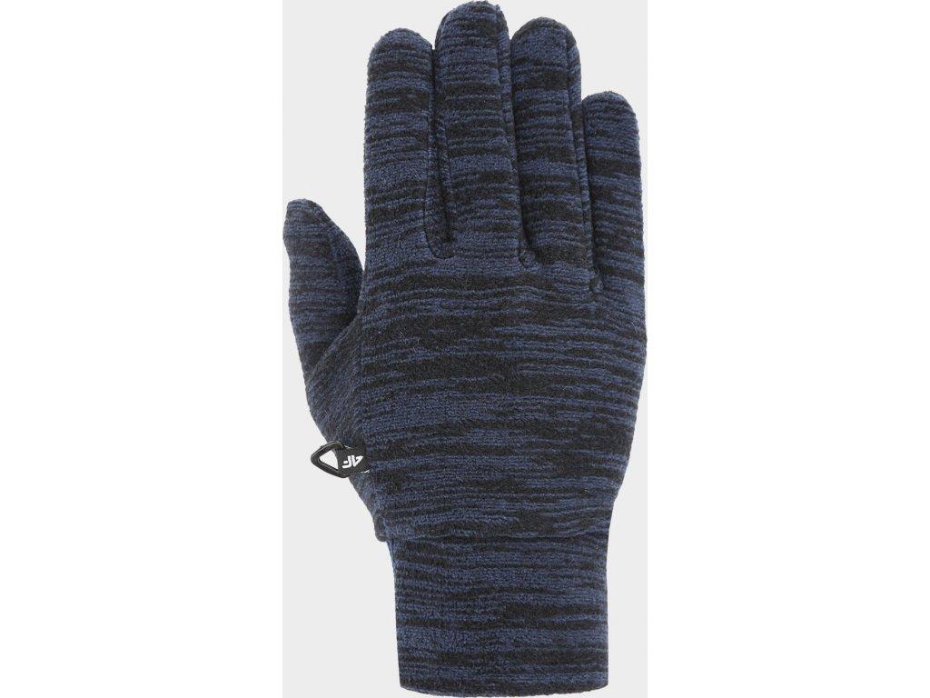 Fleecové rukavice 4F REU301 Tmavě modré