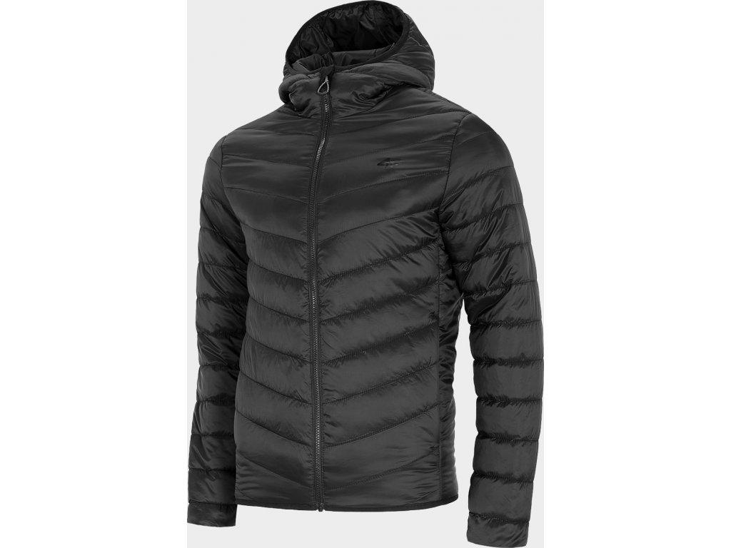 Pánská péřová bunda 4F KUMP301 Černá