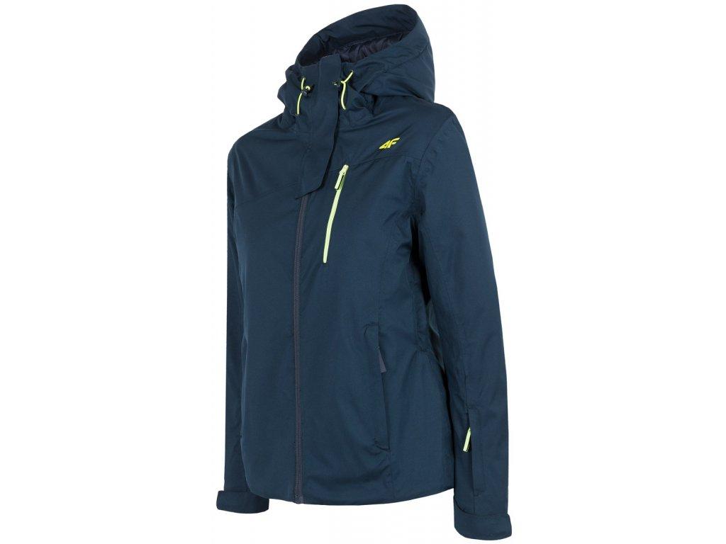 Dámská lyžařská bunda 4F KUDN060 Tmavě modrá