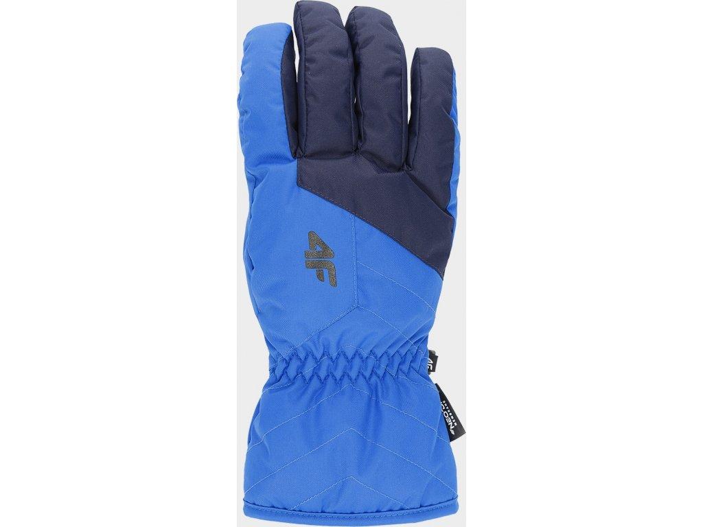 Pánské lyžařské rukavice 4F REM001 Modré