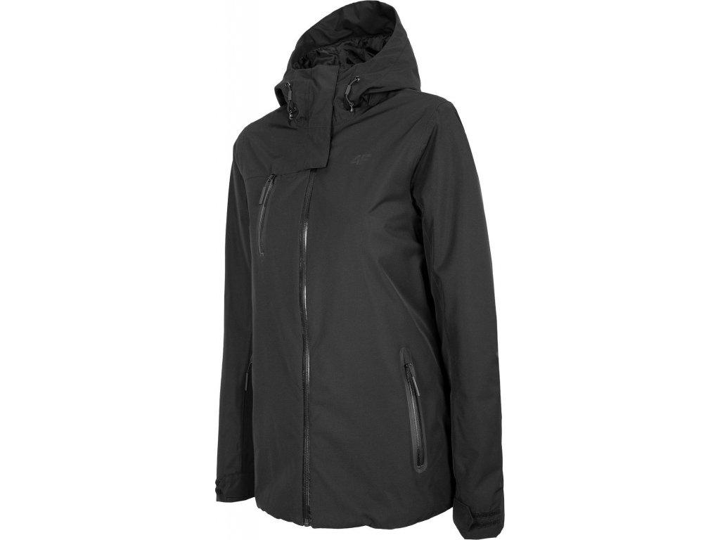 Dámská outdoorová bunda 4F KUD001 Černá
