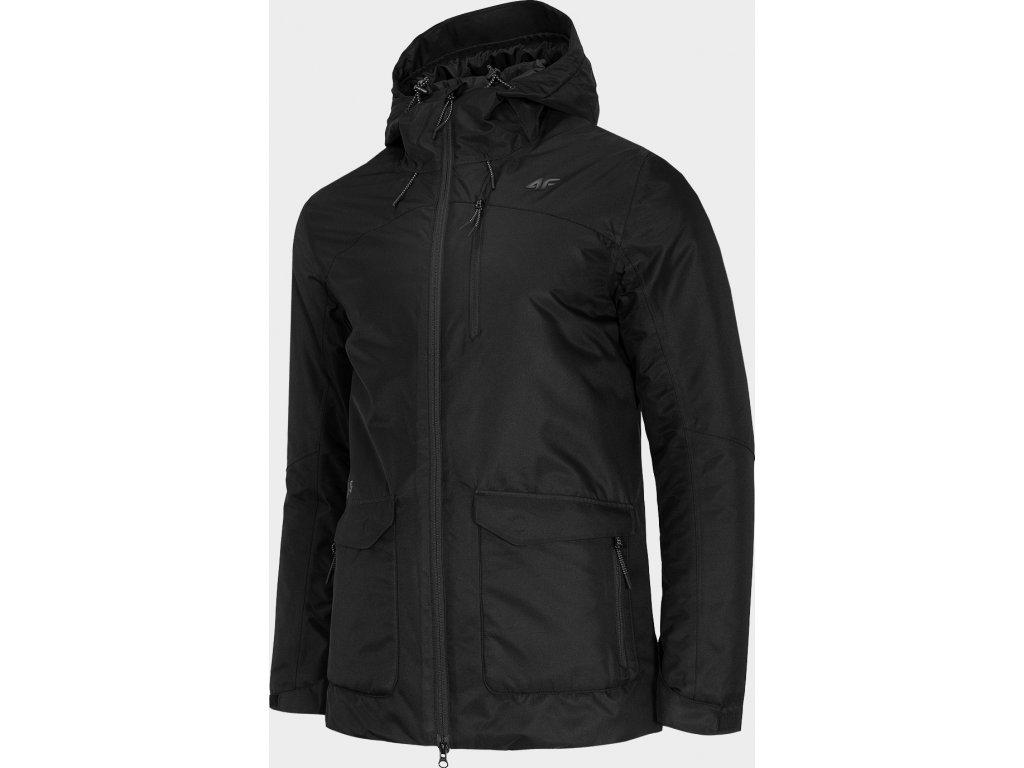 Pánská městská bunda 4F KUM006 Černá