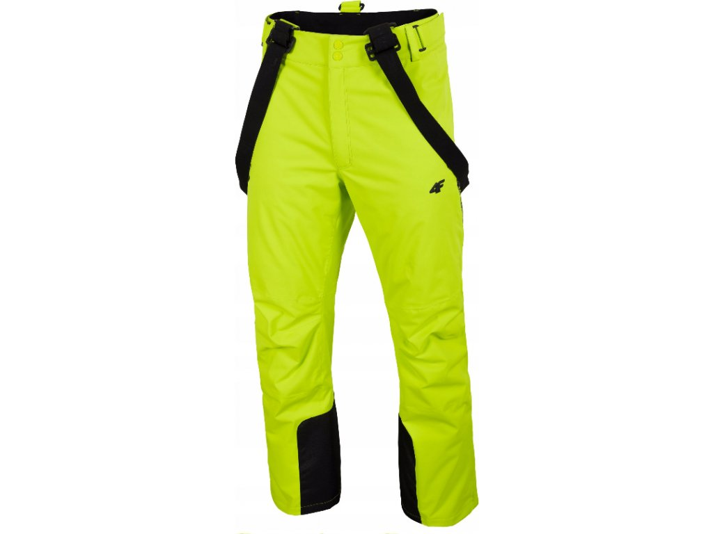 Pánské lyžařské kalhoty 4F SPMN012 Zelené