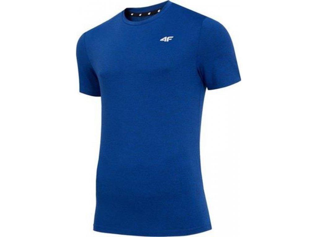 Pánské funkční tričko 4F TSMF001 Tmavě modré