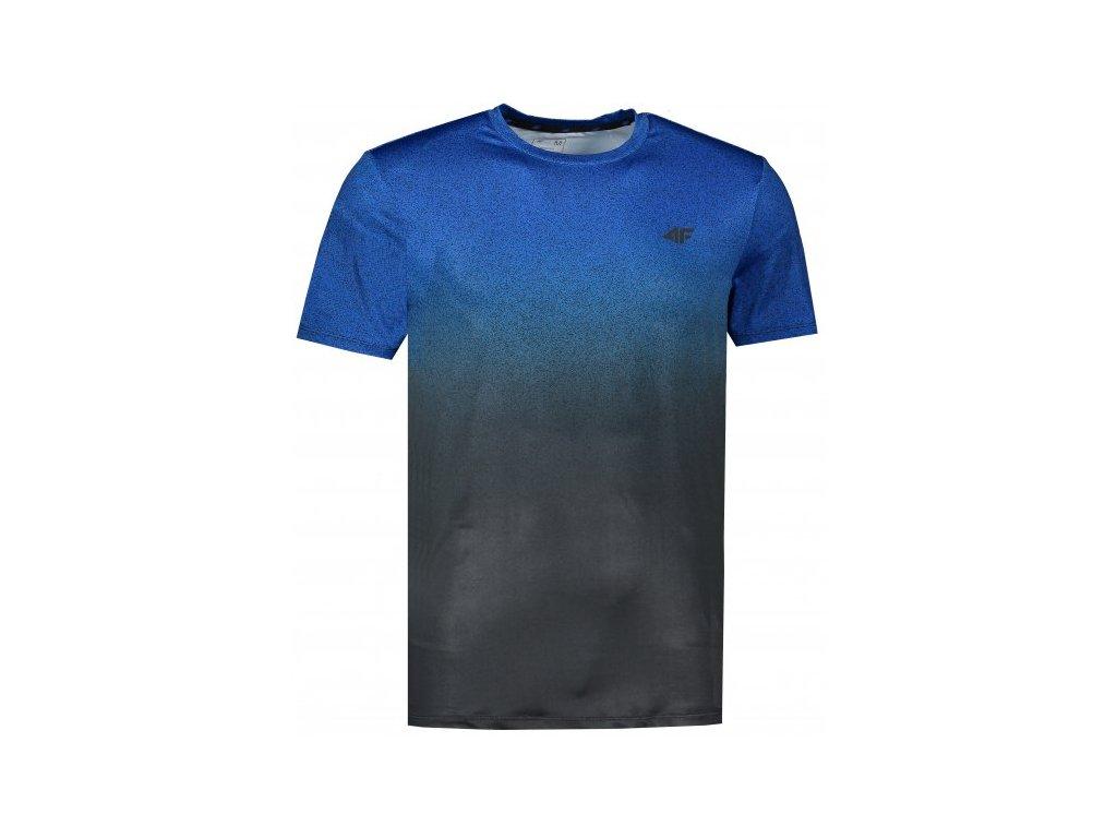 Pánské funkční tričko 4F TSMF008 Modré