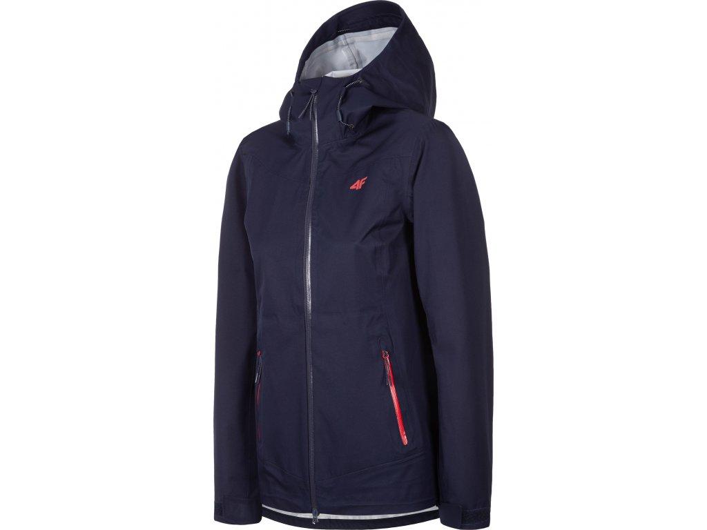Dámská outdoorová bunda 4F KUDT001 Tmavě modrá