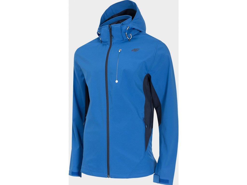 98954 panska sofshellova bunda 4f sfm203 modra