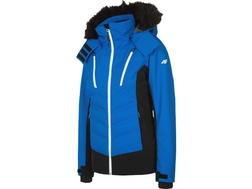 99101 damska lyzarska bunda 4f kudn010 modra