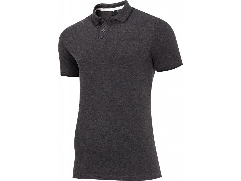 Pánské polo tričko TSM011 Tmavě šedé