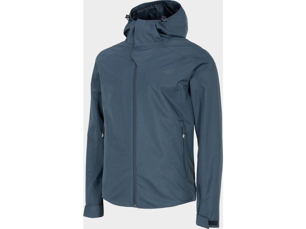Pánská outdoorová bunda 4F KUM300 Tmavě modrá