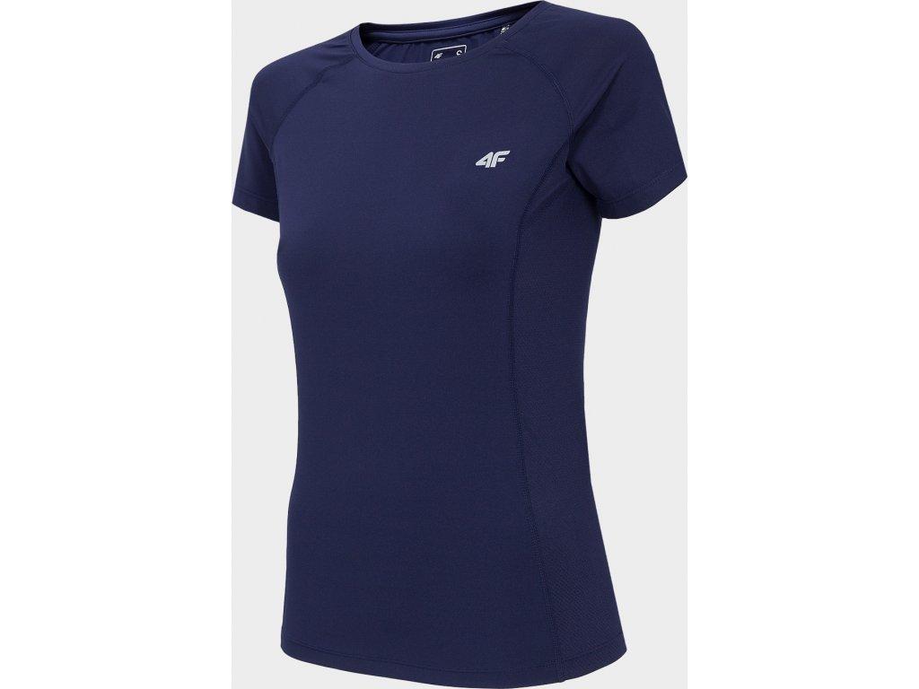 Dámské funkční tričko 4F TSDF002 Tmavě modré