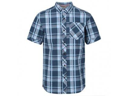 Pánská košile REGATTA RMS120 Deakin III Modrá
