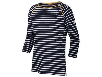 Dámské tričko RWT188 REGATTA Polina Modré/proužek