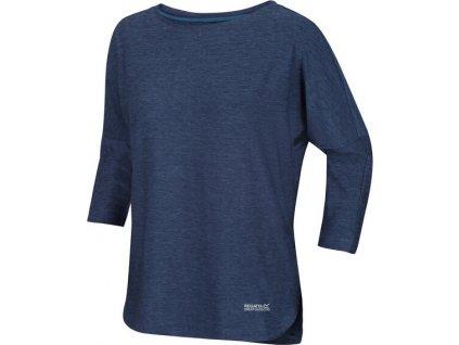 Dámské tričko s 3/4 rukávem RWT202 REGATTA Pulser Modré