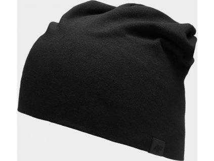Bavlněná čepice 4F CAU300  Černá