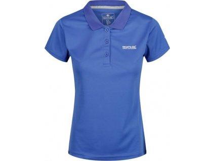 Dámské polo tričko Regatta Maverick V Maverick IV Modré