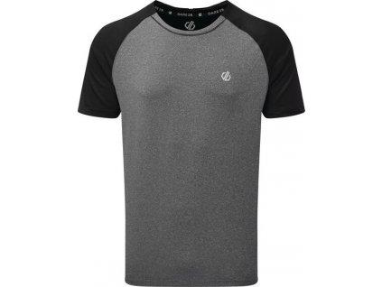 Pánské funkční tričko Dare2b DMT499 Peerless Tee Šedé