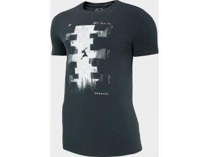 Pánské tričko 4F TSM212 Tmavě šedé