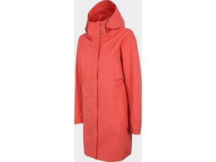 Dámský kabát Outhorn KUDT602 Červený
