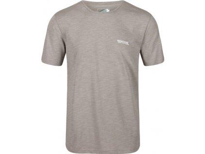Pánské tričko Regatta RMT218 Tait Šedé