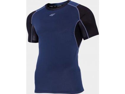Pánské funkční tričko 4F TSMF211 Tmavě modré