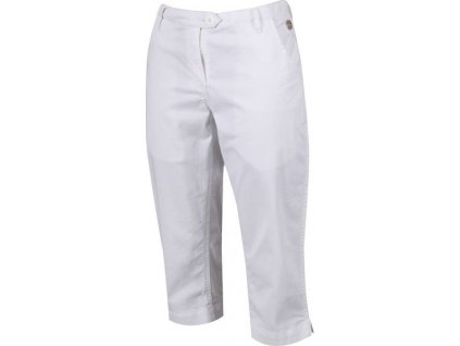 Dámské 3/4 kalhoty Regatta Maleena Capri II 900 bílé
